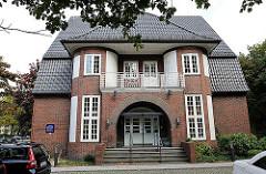 ehem. Polizeistation an der Lübecker Strasse - Backsteingebäude, Architekt Oberbaudirektor Fritz SChumacher.