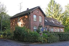 Altes Schulgebäude / Alte Schule - Kupferredder Hamburg Wohldorf Ohlstedt.