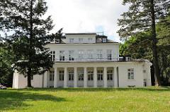 Architekturgeschichte in Hamburg - Landhaus im Klassizismus - Goßlerhaus, erbaut 1794.