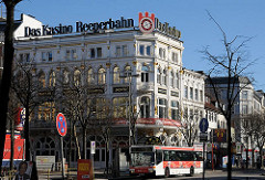Historische Architektur Hamburgs - Gründerzeitgebäude an der Reeperbahn.