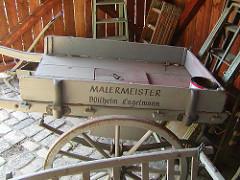 Malermuseum Handkarren Malermeister.