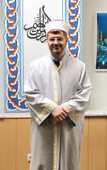 Vorstandsvorsitzender der Eyüp Sultan Moschee-Gemeinde Imam Ibrahim Sökmen