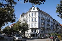 Eckhaus im Gründerzeitstil - Eppendorfer Weg.