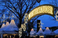 Weihnachtsmarkt am Jungfernstieg - Winterzauber