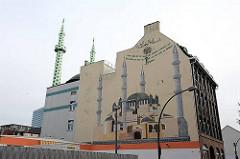 Centrums Moschee in St. Georg - Merkez Camii Moschee.