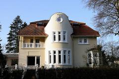 Wohnhäuser in Hamburg - Villa in Hamburg Othmarschen / Jungmannstrasse.