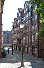 Historisches Stadtzentrum Hamburgs Stadtteil Altstadt Reimerstwiete Alte Häuser