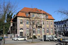 Historisches Gebaeude - Bremer Strasse, Stadtteil Hamburg Harburg.