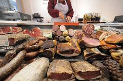 Fleischabteilung Hofladen Gut Wulksfelde