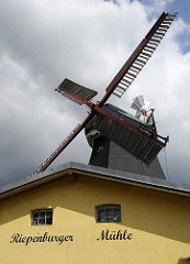 Stadtteil Hamburg Kirchwerder - Mühlenflügel der Riepenburger Mühle.