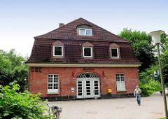 Haltestelle Buckhorn, Stadtteil Hamburg Volksdorf, erbaut 1925.