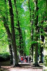 Sonnentag in Hamburg - Spaziergang im Hirschpark - Bilder aus den Hamburger Stadtteilen - Fotos aus Hamburg Nienstedten.