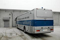 Gefangenentransporter Gefangenenbus Strafvollzug Hamburg