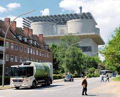 Energiebunker Wilhelmsburg - ehem. Flakbunker in der Hansestadt Hamburg.