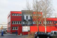 Hamburg Hammerbrook - Bullerdeich; Verwaltung der Hamburger Stadtreinigung.