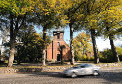 Hamburg-Bilder der Bergstedter Kirche
