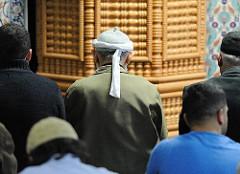 Gebetsraum Eyüp Sultan Moschee - Hamburg Harburg, Knoopstrasse.