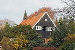 Siedlungshaus in Hamburg Sasel - Strasse  Op de Elg  - Architekt Fritz Höger.