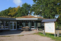 NABU / Naturschutzbund, Infohaus am Duvenstedter Brook.