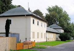 Leerstehende zum Abriss vorgesehene Wohnanlage in Hamburg Neuland.