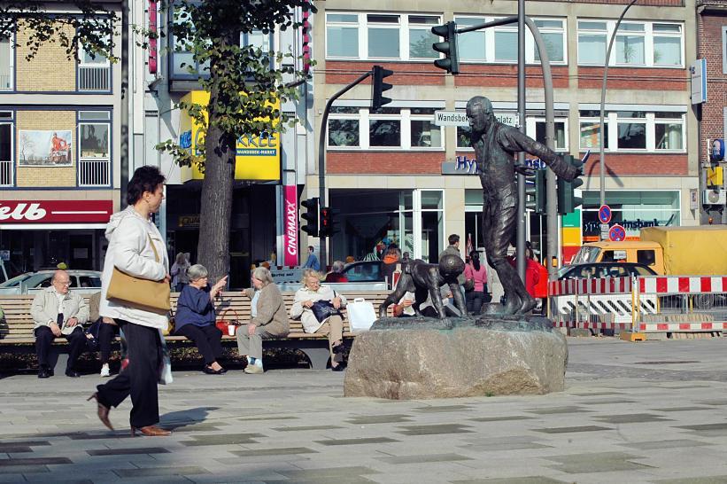 Wandsbeker Marktplatz