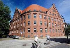 Gebäude des ehem. Polizeikommissariats 45 - Noldekestrasse - Hamburg Wilstorf.