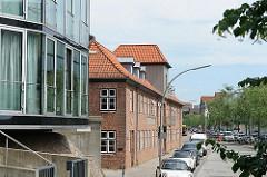 Historische Industriearchitektur Hamburg Ottensen - Lawaetzhaus in Neumühlen.