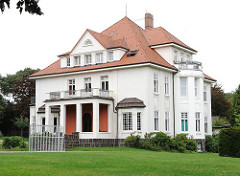 Gebäude des Kinder- und Familienhilfezentrums Hamburg Harburg / Stadtteil Heimfeld.