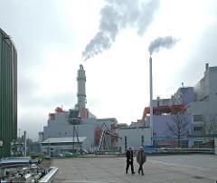 Müllverbrennungsanlage Stellinger Moor Schnackenburgsalle Stadtteil Hamburg Bahrenfeld