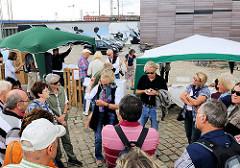 Informationsveranstaltung zur Entwicklung des Hamburger Oberhafens - Tag des Oberhafens 2012.