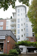 Moderne Bebauung in der Sierichstrasse, Hamburg Winterhude.