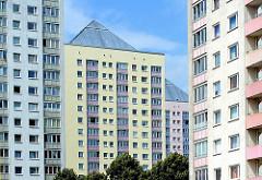 Hochhäuser in der Wohnsiedlung Lohbrügge-Nord; Stadtteil Lohbrügge - Bezirk Hamburg Bergedorf.