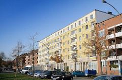 Wohnhäuser in Hamburg Hamm Süd - Suederstrasse.