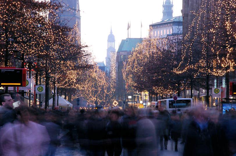 Weihnachtsbilder Hamburg.Bildarchiv Hamburg Foto Weihnachtsbeleuchtung In Den