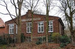 Altes Druckereigebäude / Industriearchitektur Rauhes Haus.