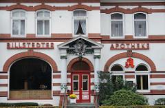 Historische Apotheke Billstedter Hauptstrasse Gründerzeitarchitektur