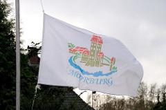 Fahne von Moorburg - Wappen des Stadtteils.