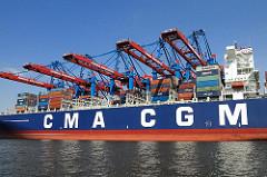 HHLA Containerterminal Burchardkai, Containerbrücken