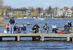 Frühling in Hamburg - die Alsterschiffe fahren wieder!