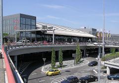Flughafen in Hamburg Fuhlsbüttel.