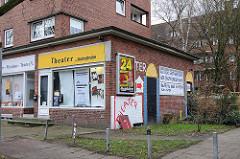 - 3850 Theater in der Washintonallee - Wohngegenden in den Hamburger Stadtteilen.
