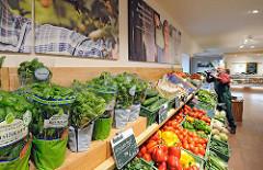 Gemüseregal Biogemüse - Bioland Betrieb Gut Wulksfelde