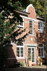 Gewerbegebäude Industriearchitektur roter Backstein Moorweg - Gross Borstel.