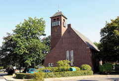 Hamburger Kirchen - Kirche St. Michael in Hamburg Sülldorf - erbaut 1957