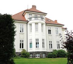 Gründerzeitvilla im Eissendorfer Pferdeweg - Hamburger Stadtteil Heimfeld.