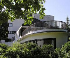 Architektur Hamburg Neues Bauen Karl Schneider - Villa Michaelsen - Blankenese.