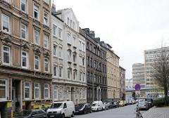 Wohnhäuser in Hamburg Hammerbrook - Woltmannstrasse