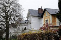 Bilder Hamburger Stadtvillen - Einzelhäuser  Fottbeker Bellmannstrasse.
