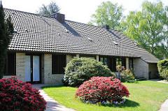 Hamburger Architekturstile - Hermkes Siedlung in Hamburg Nienstedten - Architekt Bernhard Hermkes, erbaut 1950-52.