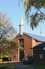 Hamburger Kirchen - Katholische Kirchengemeinde, St. Bernard Kirche .